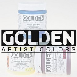 Golden acrylique
