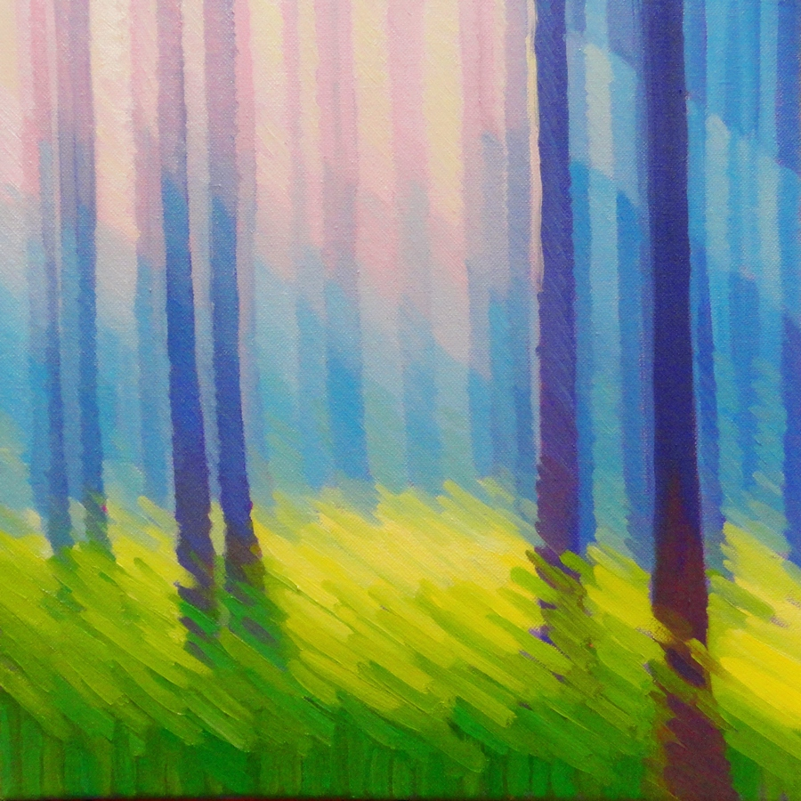 Abstracting the Landscape oil/acrylic